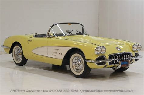 1958 to 1960 corvette for sale 1958 1959 1960 corvettes classic cars from proteam