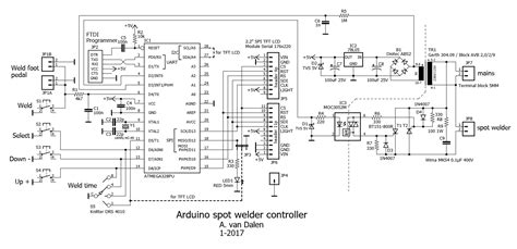 spot welder wiring diagram 26 wiring diagram images