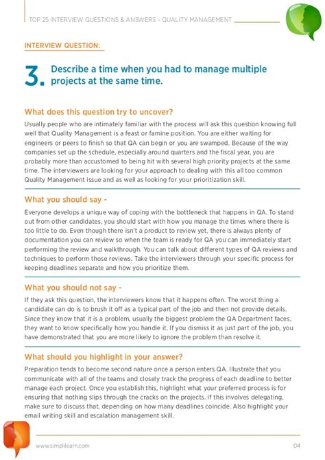 the 10 most common project management interview questions capterra
