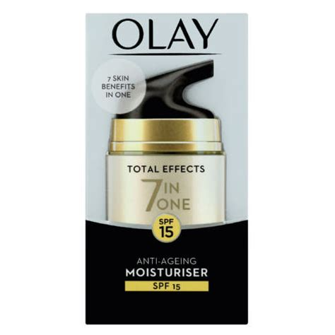 Olay Total Effect 7 In 1 Day olay total effects 7 in 1 day moisturiser 50ml clicks
