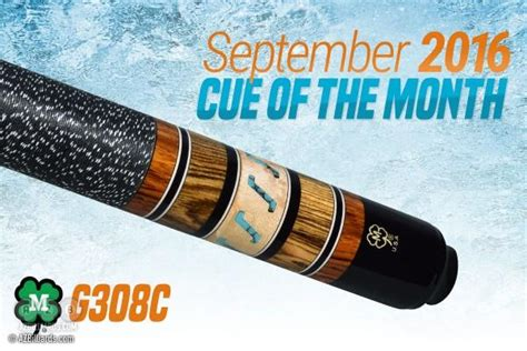 Mcdermott Cue Giveaway - mcdermott announces cue of the month giveaway for september 2016 news azbilliards com