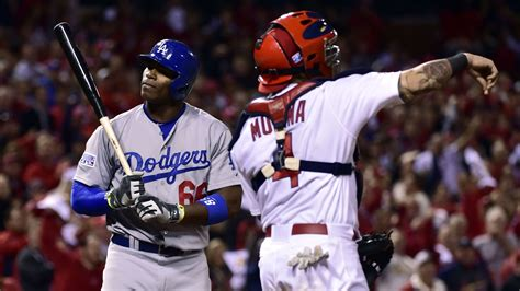 why was puig benched yasiel puig benched for nlds game 4 true blue la
