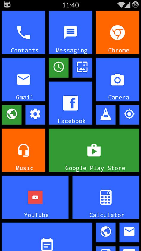 themes for android without launcher metro theme launcher 2018 wp look android apps on
