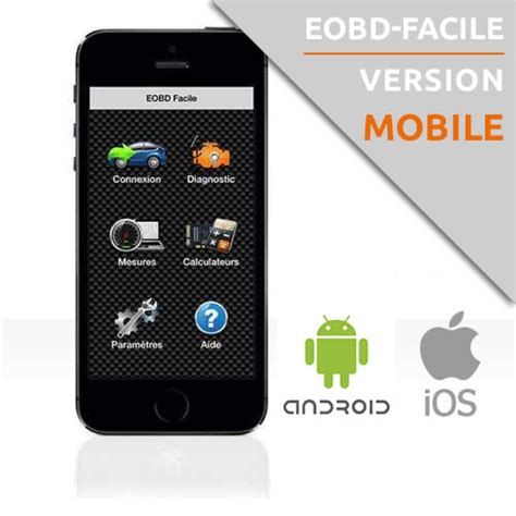 android apps on iphone iphone android car diagnostics application eobd facile