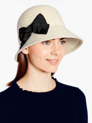 Shanghai Bow shanghai stitched bow cloche kate spade my style