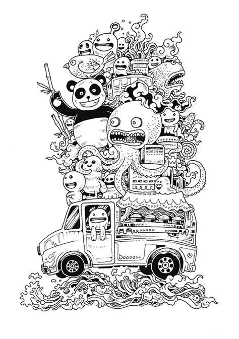 doodle 4 drawing sheet galerie de coloriages gratuits coloriage doodle doodling