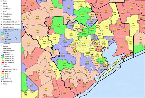 texas school region map map of region 4 texas school districts cakeandbloom