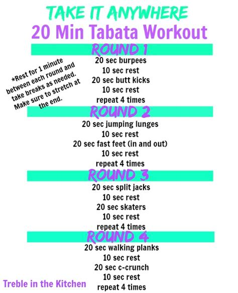 take it anywhere tabata workout tabata hiit workout