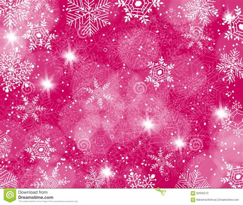 falling snowflake lights background stock vector image 62635572
