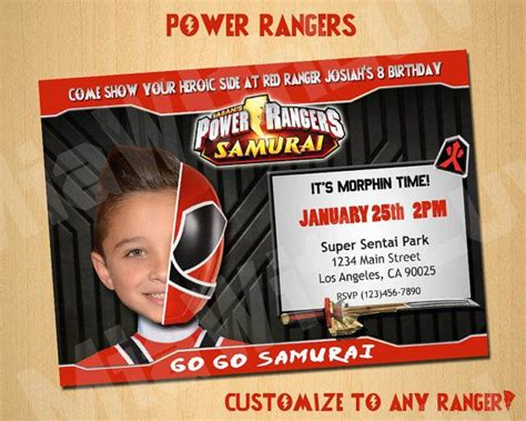 pin by miawithluv on power rangers birthday ideas