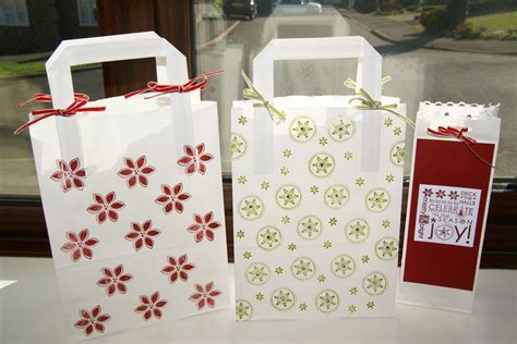 decorating paper bags for christmas st on it 12 days of day 7 gift bags