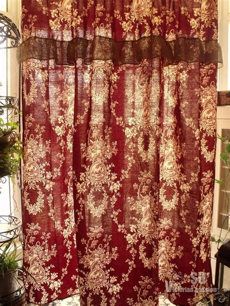 antique french rose birds shabby rustic chic burlap shower