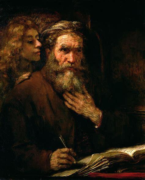 libro ta chuan the great rembrandt harmensz van rijn de apostel matthe 252 s bijbel en kunst