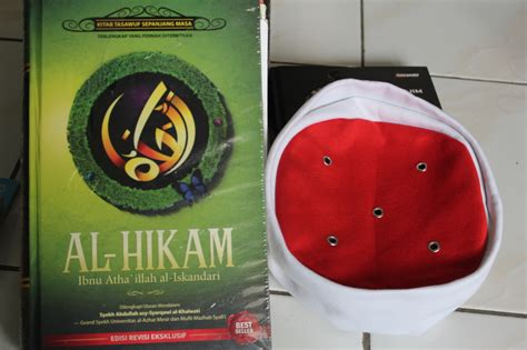 Peci Maiyah jual kitab al hikam ibnu athaillah al iskandari peci maiyah outletmerchandise maiyah