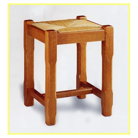 Dessus De Tabouret by Tabouret De Table Cagnard Avec Paille Meubles De