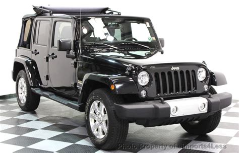 Jeep Navigation 2014 Used Jeep Wrangler Unlimited Certified Wrangler