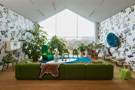 Living Room With Indoor Plants by Business News World Business News Business News