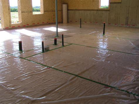 basement floor slab 171 cottonwood passive house