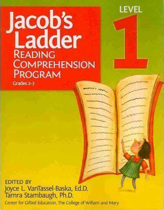 jacob s ladder reading comprehension program grades 6 7 2nd ed books jacob s ladder reading comprehension program level 1