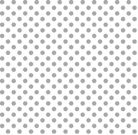 Pola Polka Dot Monochrome polka dots grey misstiina spoonflower clip library