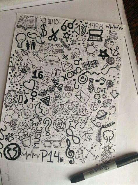 doodle imagine draw notebook elizabethloren doodles