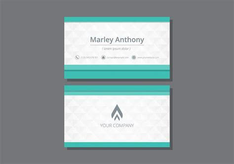 tarjetas name card template download free vector art