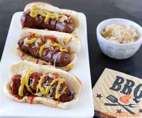 bratwurst recipe homemade bratwurst recipe and how to video girls can grill