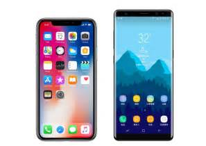 The Iphone X 5 6 7 8 Samsung A5 A7 A8 A9 Note Dll iphone x vs samsung galaxy note 8 comparativa de