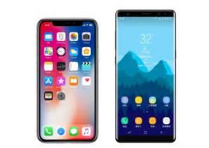 iphone x vs samsung galaxy note 8 comparativa de caracter 237 sticas y precios