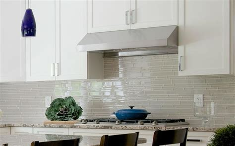 country cottage light taupe linear glass mosaic tile rocky point tile glass  mosaic tile