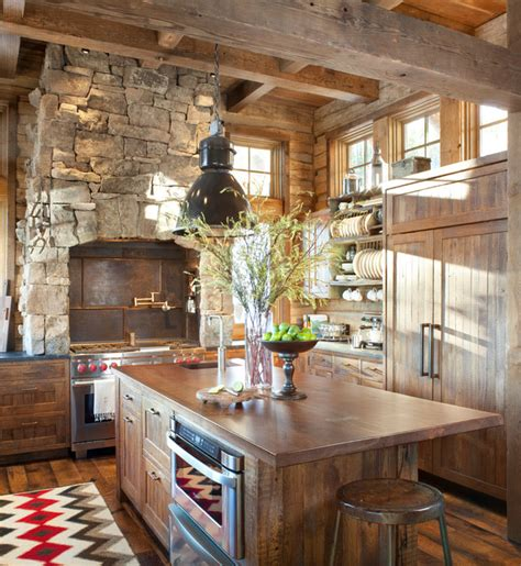 Cozy Kitchen Designs 20 Cozy Rustic Kitchen Design Ideas Style Motivation