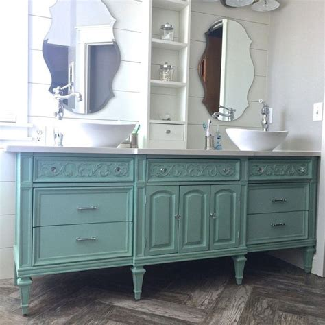 Dresser Into Bathroom Vanity by Dresser Vanity Hometalk