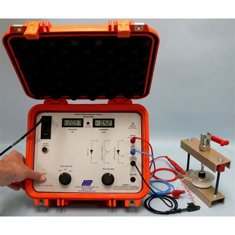 thyristor diode test larkin m3k power semiconductor scr and diode tester mitchell instrument company
