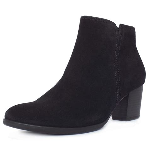 suede black boots gabor ankle boots greene s classic ankle boots in