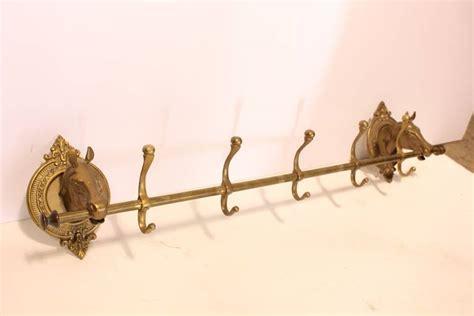 Brass Coat Rack Vintage by Vintage Brass Coat Rack At 1stdibs