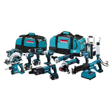 Nagita Set makita lxt1200 18v lxt lithium ion cordless combo kit ebay