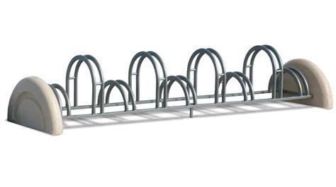 porta bici rastrelliere porta biciclette in metallo e cemento modello
