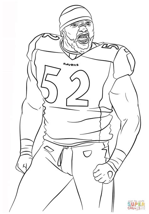 Baltimore Ravens Coloring Page Coloring Home Ravens Coloring Pages