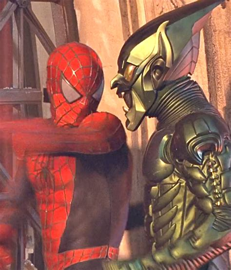 spiderman film green goblin marvel in film n 176 6 2002 spider man tobey maguire as