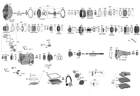 ford parts diagrams ford c6 transmission parts diagram ford auto parts