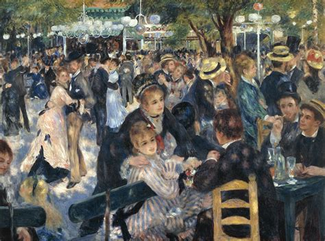facts about luncheon of the boating party bal du moulin de la galette by pierre auguste renoir