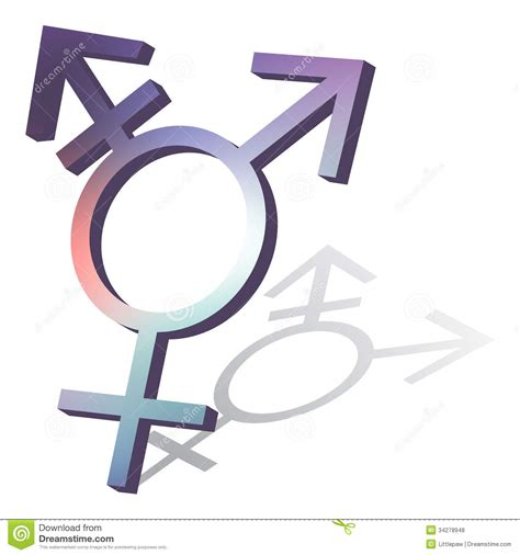 transgender symbol royalty free stock photos image 34278948