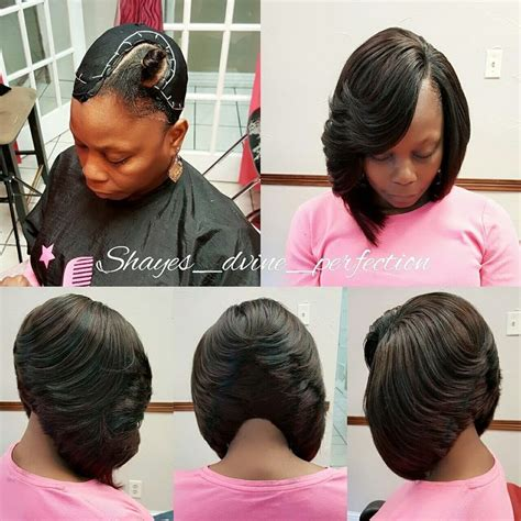 sew in bob weave hairstyles for black women the 25 best quick weave hairstyles bobs ideas on