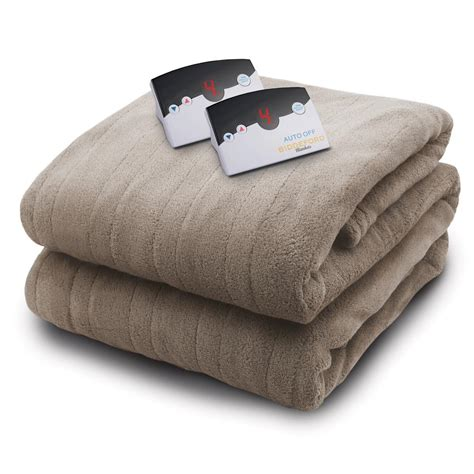 biddeford blankets 2034 series micro plush heated 100 in