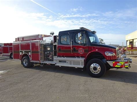 Clay County Florida Records Ten 8 Equipment Freightliner Pumper Delivered To Clay County Florida