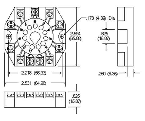 11 Pin Octal Socket R95 104