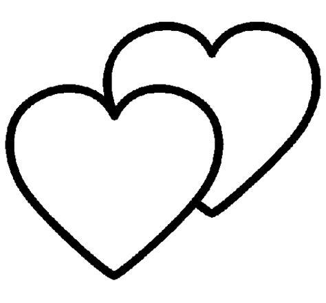 imagenes de corazones sin pintar im 225 genes de san valentin para colorear dibujode