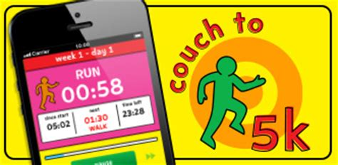 couch to 5km app nhs couch to 5k week by week live well nhs choices