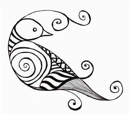 pattern drawing bird zentangle bird hello birdie a pinterest