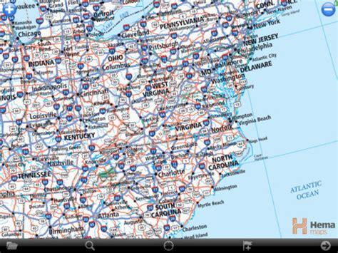 road map eastern usa usa roadatlas united states road atlas with offline gps